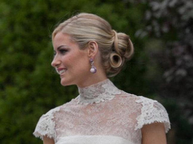 wedding hair style by darren le