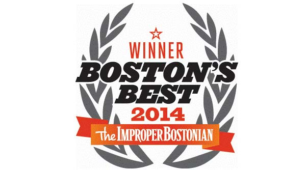 Improper Bostonian's 2014 Award logo